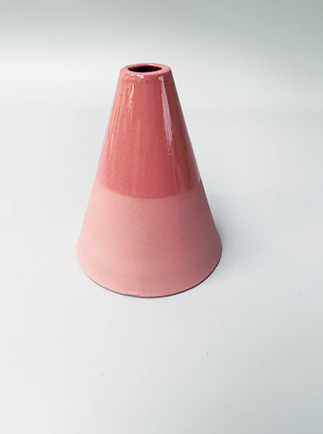 Cone Shaped Vase - Marbled Pink Marbled, Marlies Neugebauer - Northernism