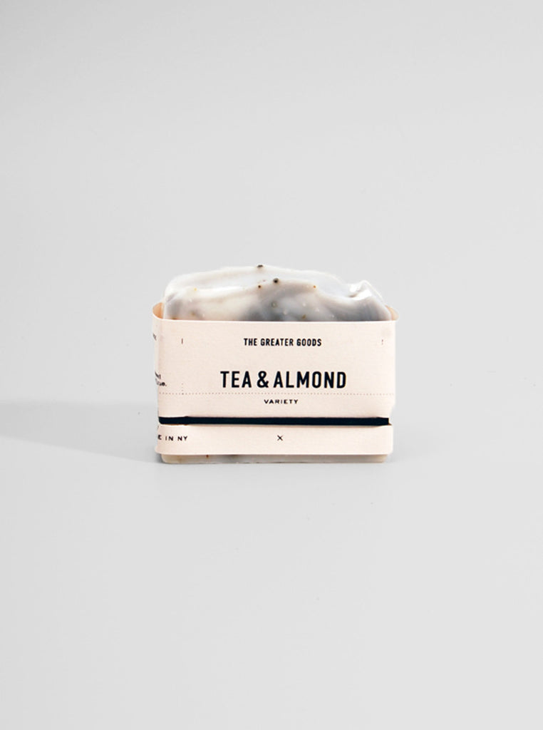 Tea & Almond Soap by The Greater Goods, The Greater Goods - Northernism