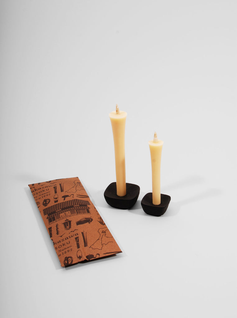 Tomore Candle Set (Natural), Takazawa Candle Co. - Northernism