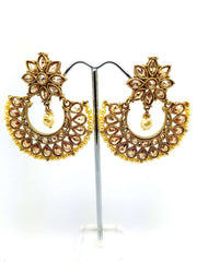 15ER3648 kt - A beautiful set of Tika and earrings - Bollywood party, bride - Prachy Creations