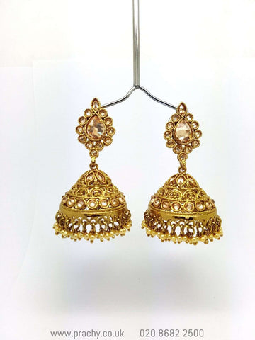 15ER3142 - Earrings - H 0816 - Prachy Creations