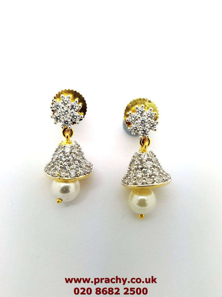Prachy Creations : AJER 1713 tp 0217 AD earrings