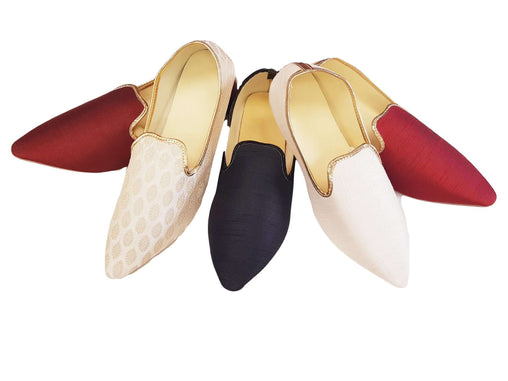 Prachy Creations : Very comfortable Mojri - Indian Mens shoes - Bollywood - Weddings - Fancy Dress - Mojari, Khossay