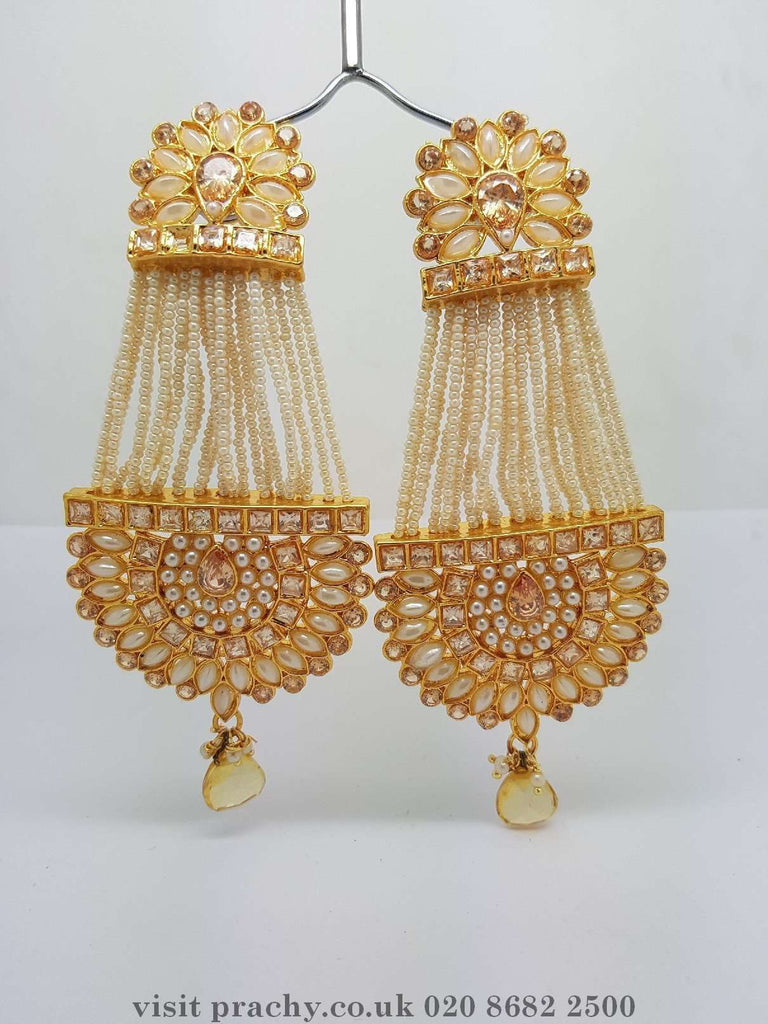 DJ 22226 - kk 0716 - Earrings - Prachy Creations