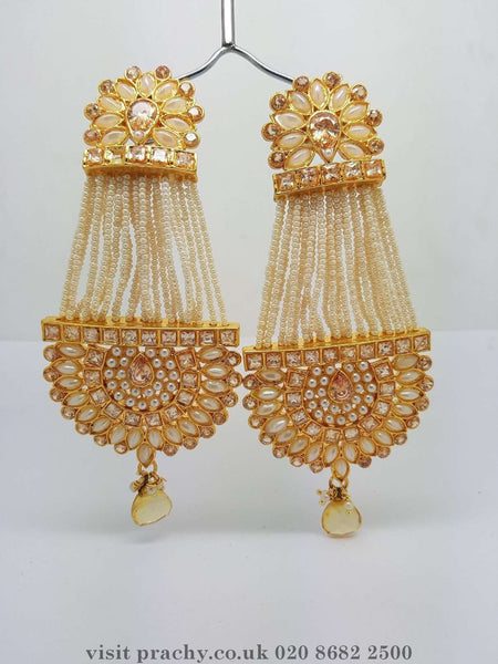 Prachy Creations : DJ 22226 - kk 0716 - Earrings