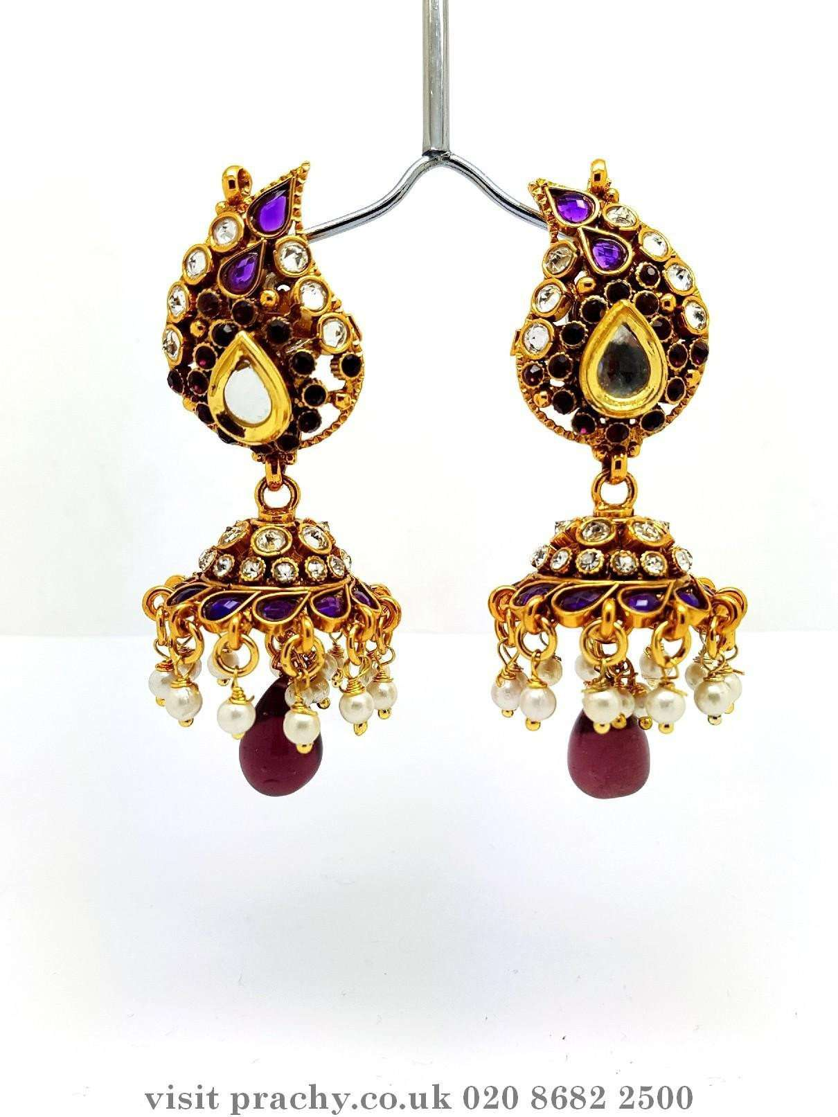 DJ 22241 - p.p 0716 - Earrings - Prachy Creations