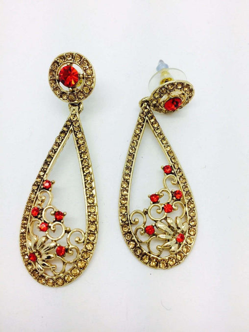 Prachy Creations : Finest Indian hand made Earrings - DC-ER33164 TP