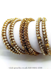 AE323 - Antique bangles (Pair) - VP 0816 - Prachy Creations