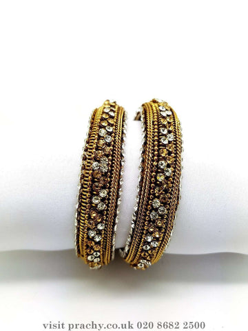 AE503 - Antique kada (Pair) - VP 0816 - Prachy Creations
