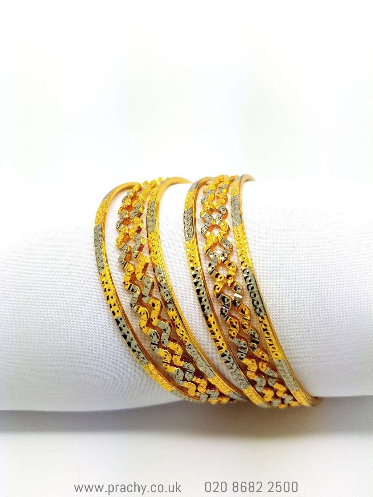 Prachy Creations : B953 Bangles - (set of 8) j 0916