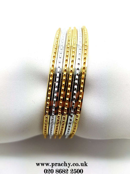 PB 29 t - 25 pieces Antique bangle set - Bollywood, Weddings, Fancy Dress, Return Gift - Prachy Creations