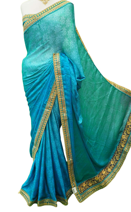 Classic Silky saree with blouse piece - DRF5025TP 0218