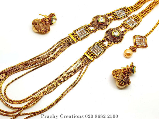 Prachy Creations : HIR 358  - Long set - kt 0416