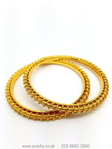HR 489 Bangles - (pair) t 0916 - Prachy Creations