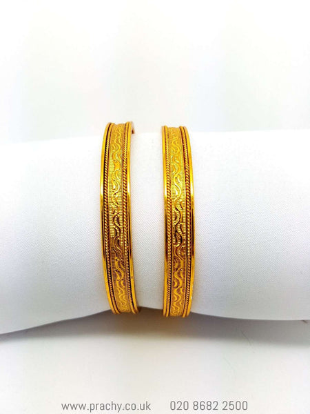 HR 494 Bangles - (pair) v 0916 - Prachy Creations