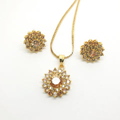 Ladies Pendant with Earrings set - Bollywood - Weddings - AE191101 Jp1119