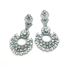 Delicate Choki Stone AD Earrings set - Bollywood - Weddings - MMJ215 KT1119