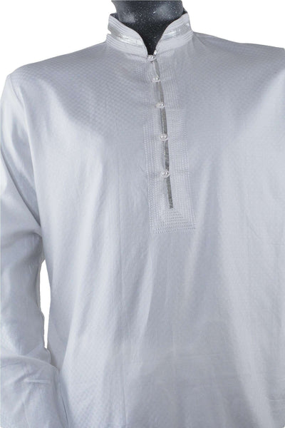 Prachy Creations : Jagir 3 TY - White Mens Indian Kurta outfit , Bollywood Party, Weddings