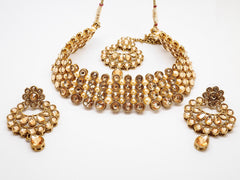 Bollywood Necklace set - Many Colours - Weddings - JIG1545 P0919