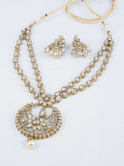 Prachy Creations : Reverse stone Long necklace set - Bollywood - Weddings - KAJ689 KV0419