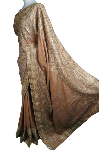 KKT5515 05JP17 - Gold stone work saree, BP