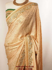 KV SEP 299 ay 0516 - Half N half Rich saree - Prachy Creations