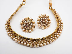 Bollywood Necklace set - Many Colours - Weddings - MNA261 Rp0919 - Prachy Creations