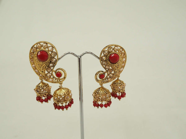 Traditional Indian Earrings - Bollywood - Weddings - Party - MY33183P 0918