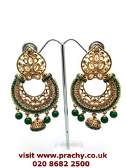 MY49 jp 0217 - Antique finish earrings. - Prachy Creations