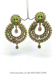 MJ 1661 - Earrings -  C 0816 - Prachy Creations