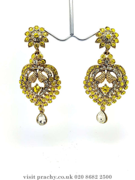 MJ 1675 - Earrings -  R 0816 - Prachy Creations