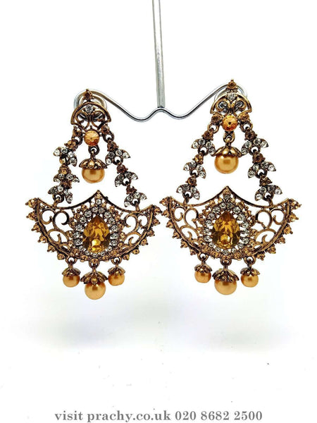 Prachy Creations : MJ 1836 - Earrings -  C 0816