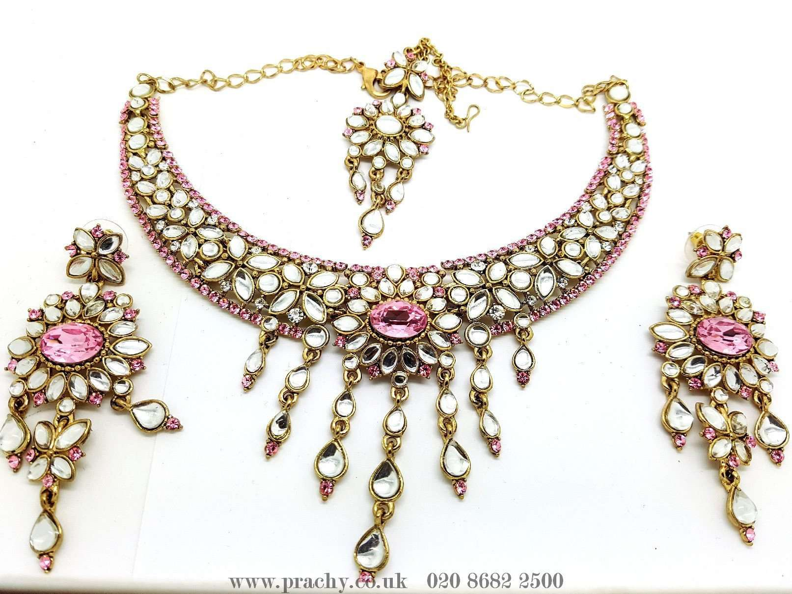 mj 8715 ka 0616 - Choker set - Prachy Creations