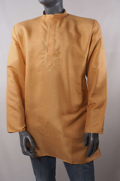 Aveo - Mens Ivory shirt - Kurta top - Ideal on a pair of jeans 0417 - Prachy Creations