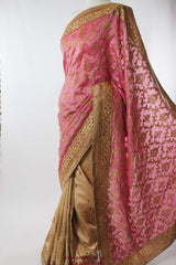 PTC 982 - Half N Half Party saree - tp 0516 - Prachy Creations
