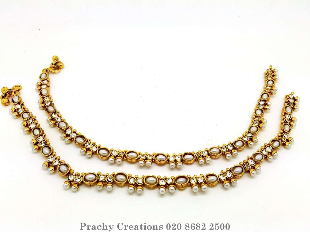 DJ 22124 r 0616 (Pair) - Prachy Creations