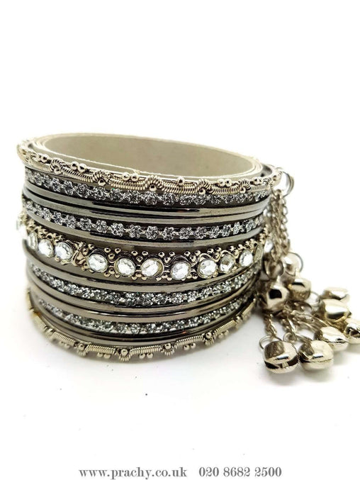 A set of 15 bangles - PB 23 - Bangle set Bollywood Fancy dress - Prachy Creations