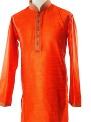 Rust Mens Kurta set - Bollywood, Weddings, Fancy Dress - SNC586VT-RST - Prachy Creations