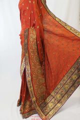Silky 4 Contemporary silk saree - Bollywood, Weddings py 0615 - Prachy Creations