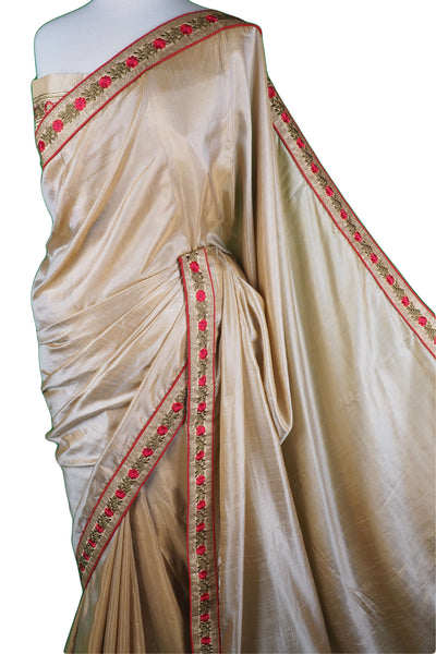 SEP5712 04PV17 - Gold saree