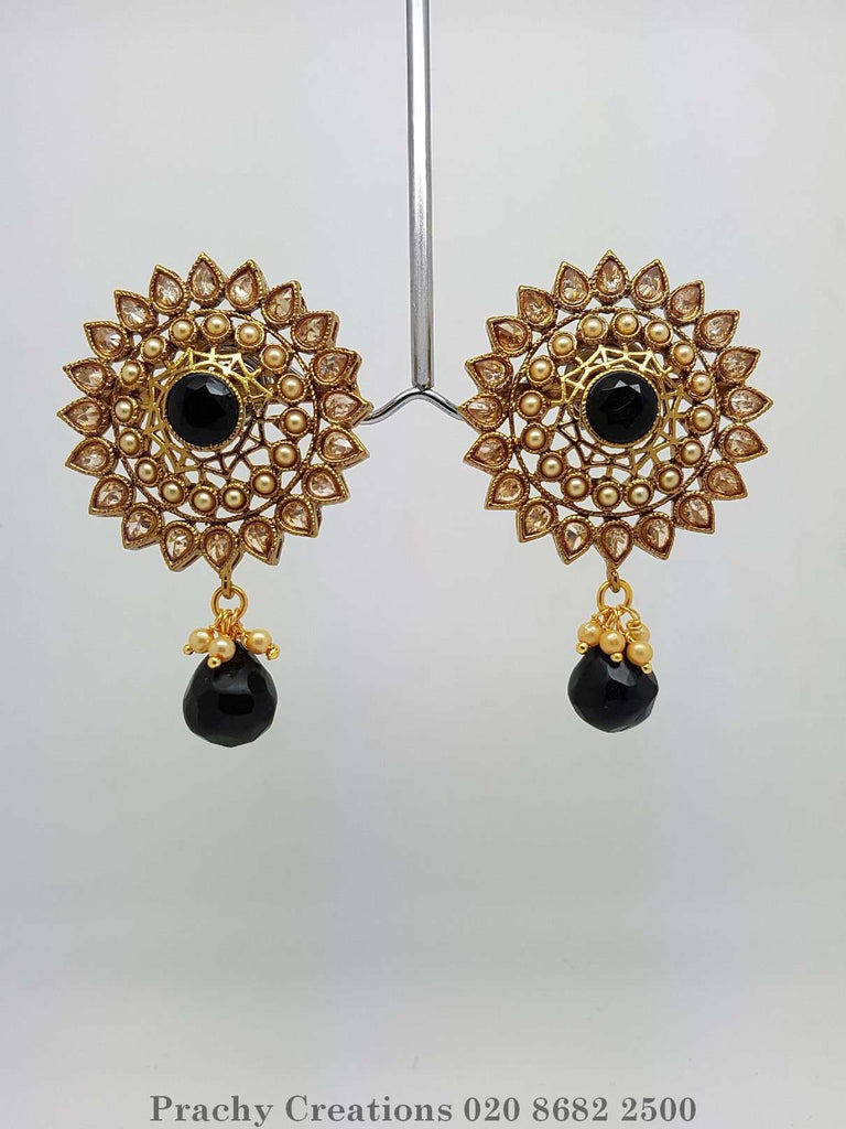 SONI 85 - r.p 0516 -Traditional Indian Earrings - Prachy Creations