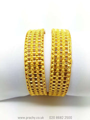 Taib 02 Bangles - (pair) vp 0916 - Prachy Creations