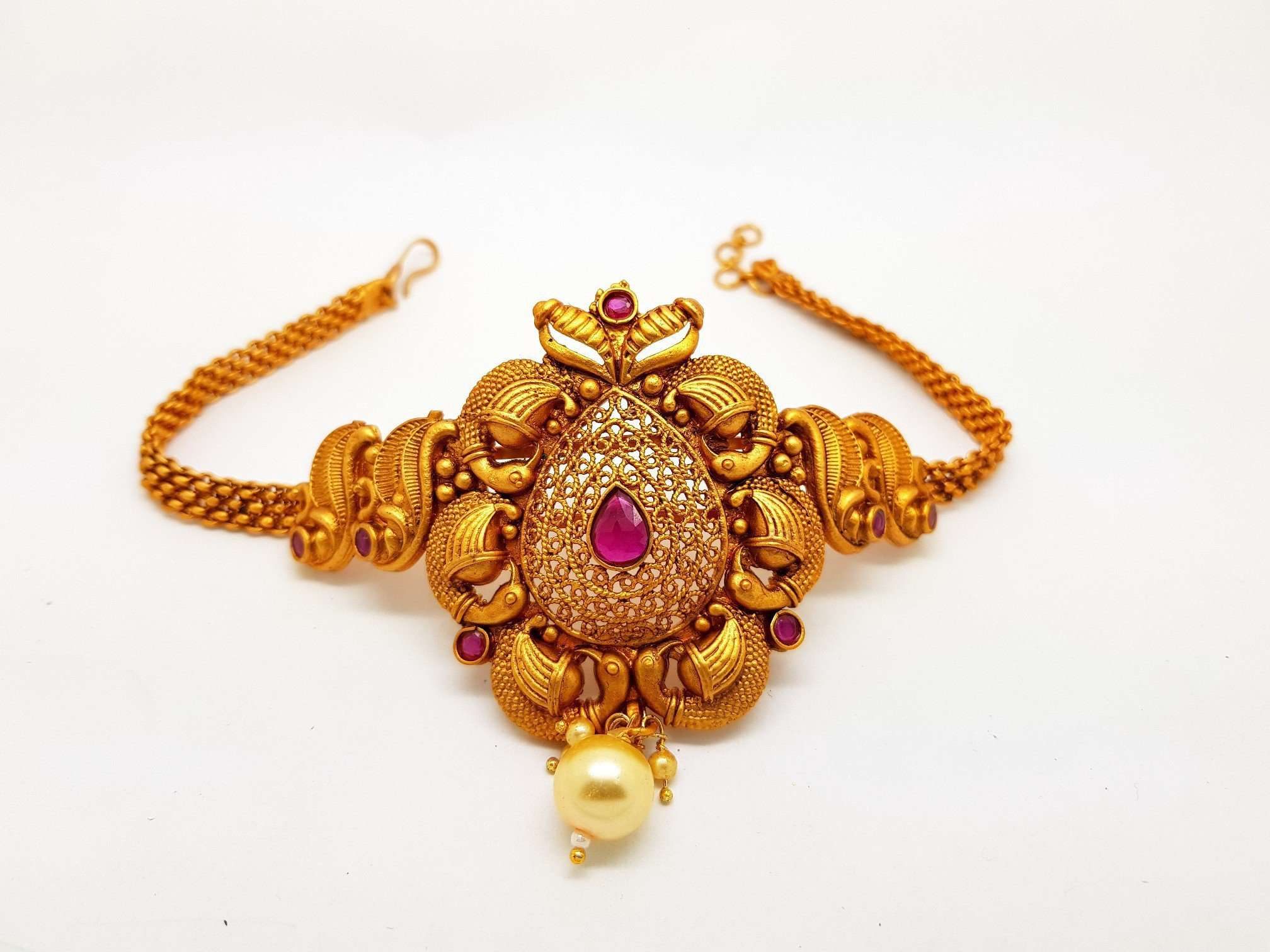 BajuBandh - Arm Band - Indian Fashion Jewellery - Bollywood - Fancy Dress -  VIN10A - Prachy Creations