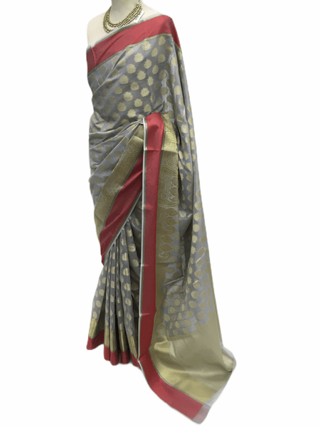 Benarasi Handloom Silky saree - with Blouse Piece - SN2010 KK0220