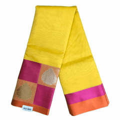 Benarasi Handloom Silky saree - with Blouse Piece - SN2015 KK0220 - Prachy Creations