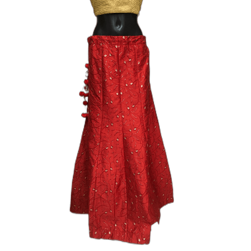 Fully Embroidered Lehnga Skirt only  - Mix N Match - DCB1939 KP 0120