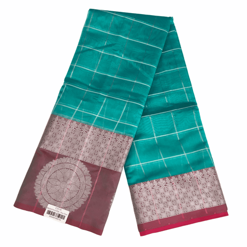 Benarasi Handloom Silky saree - with Blouse Piece - SN2002 H0220 - Prachy Creations