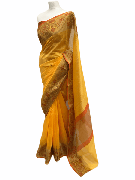 Benarasi Handloom Silky saree - with Blouse Piece - SN2003 KK0220