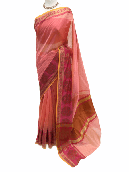 Benarasi Handloom Silky saree - with Blouse Piece - SN2004 KK0220 - Prachy Creations