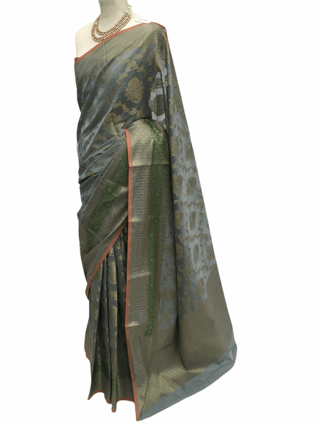 Benarasi Handloom Silky saree - with Blouse Piece - SN2016 KA0220